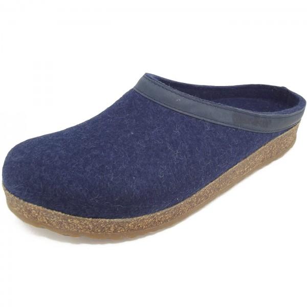 Haflinger Grizzly Torben Unisex Pantoffeln jeans