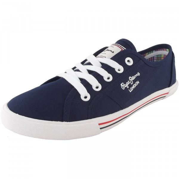 Pepe Jeans Aberlady Basic Damen Sneaker dunkelblau (marine)