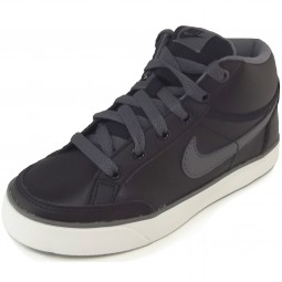 Nike Capri 3 Mid Leather Kinder Sneaker schwarz (black/dark grey)