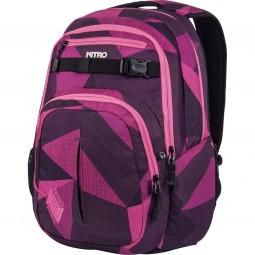 Nitro Chase Unisex Rucksack fragments purple