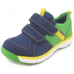 Superfit Gore-Tex Lumis Mini Kleinkinder Sport-Sneaker dunkelblau/grün (water/kombi)