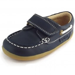 Bobux Step Up Ahoy Matey Kleinkinder Lauflern-Schuhe dunkelblau (navy)
