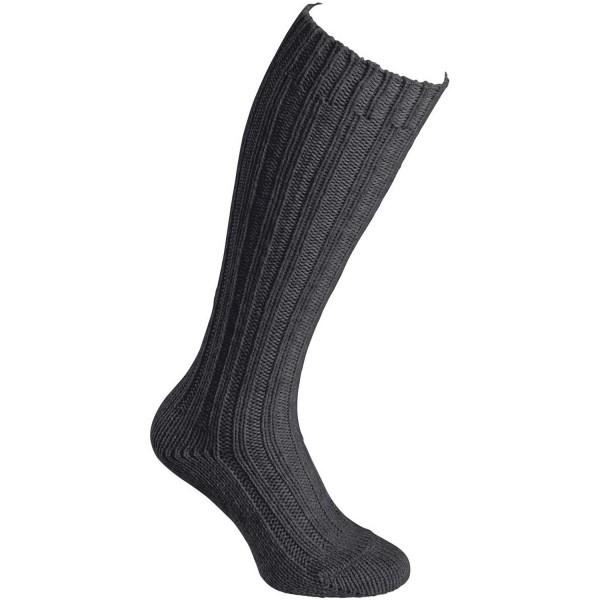 Fellhof Alpaka Stutzen Dick Unisex Woll-Socken anthrazit