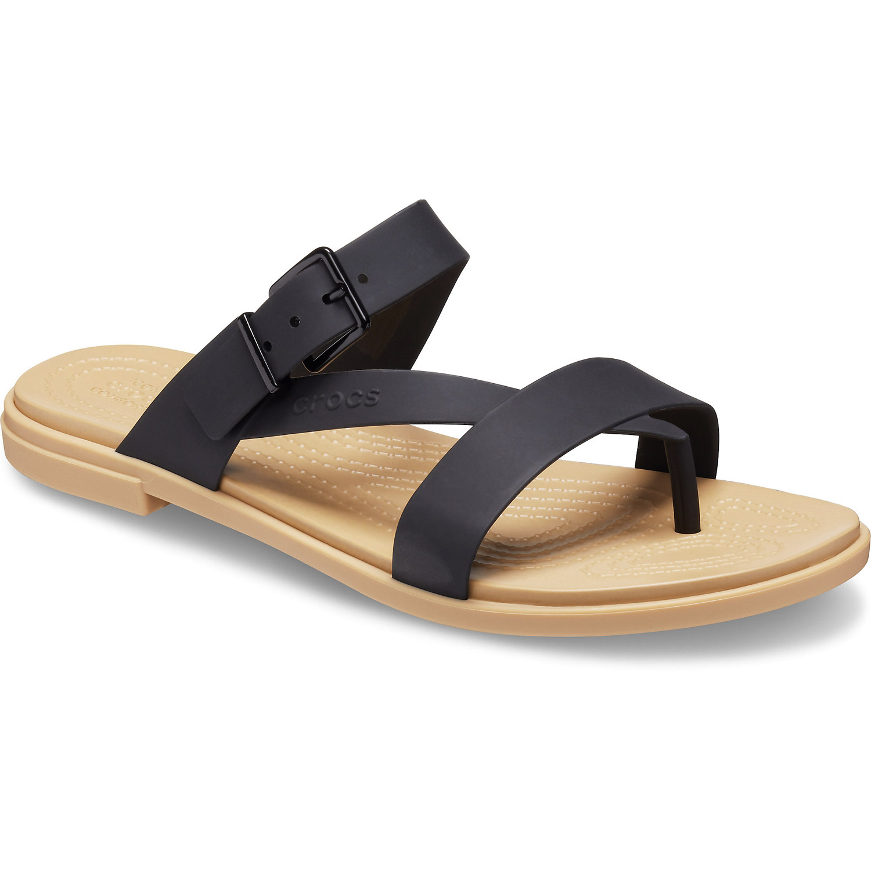 Crocs Tulum Toe Post Sandal Women Flip