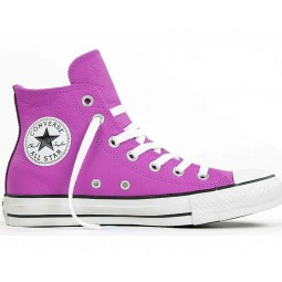 Converse All Star Hi Leather purple cactus