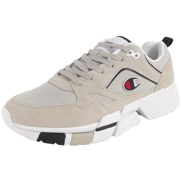 Champion Lander Suede Men Herren Vintage Sneaker beige (ecu)