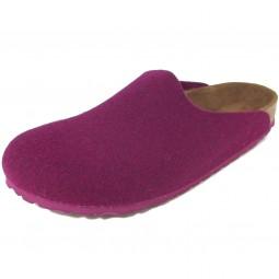 Birkenstock Amsterdam Damen Pantoffel purple