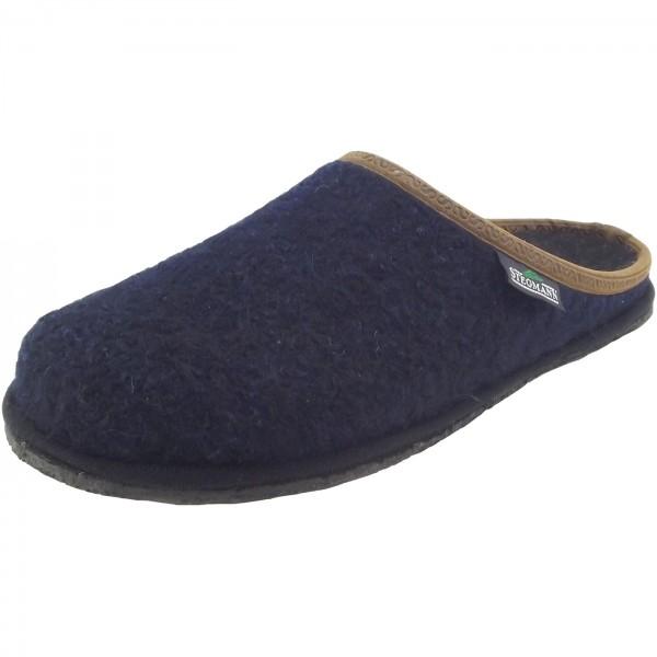 Stegmann 301 Unisex Walkfilz-Pantoffeln dunkelblau (dark blue)
