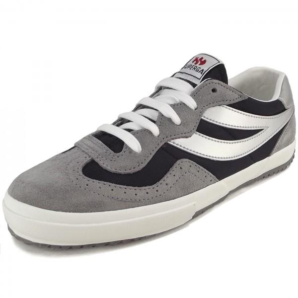 Superga 2832 NYLU Damen Sneaker grau/schwarz (grey mineral/black)