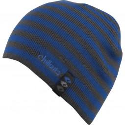 Chillouts Dean Kid Kinder Mütze grau/blau