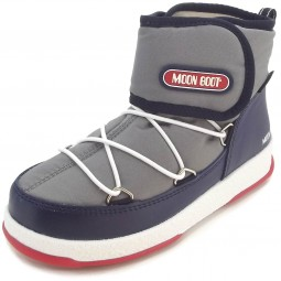 Moon Boot by Tecnica W.E. Jr Strap WP Kinder Winterstiefel grau/navy/rot