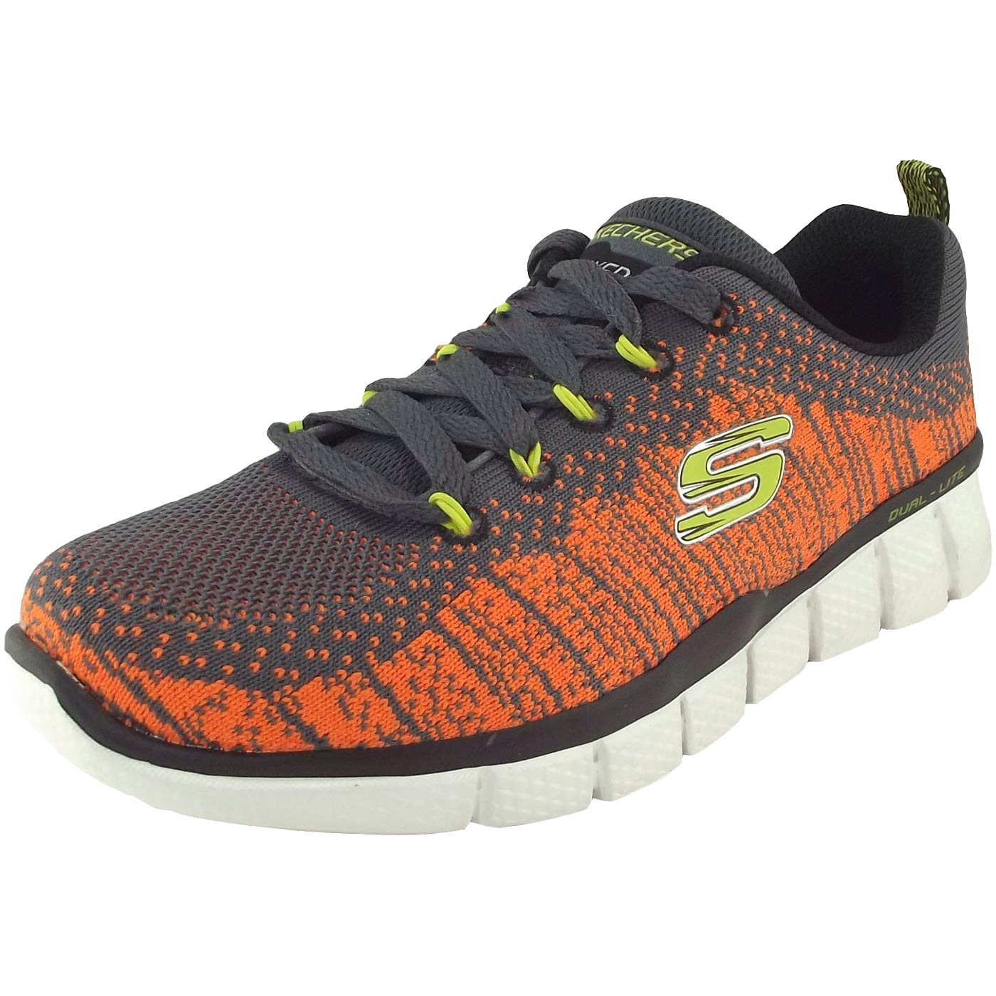 the best attitude be89e 033dd Skechers Equalizer 2.0 Perfect Game Boy Training Sneaker charcoal/orange