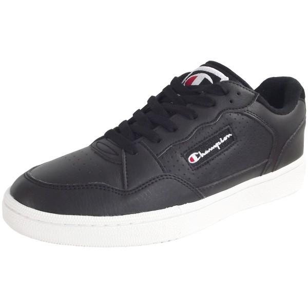 Champion Cleveland Men Low Herren Vintage Sneaker schwarz (nbk)