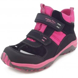 Superfit Gore-Tex Sport5 Mini Mädchen Sneaker schwarz/pink (schwarz kombi)
