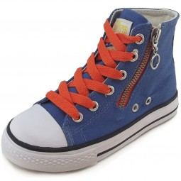 Naturino 2540 Canvas Sneaker azurblau (azzurro)