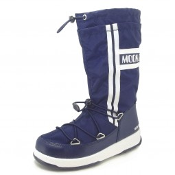 Moon Boot by Tecnica W.E. W.Fall Jr WP Kinder Winterstiefel navy blau