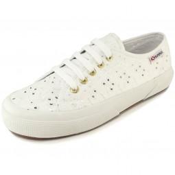 Superga 2750 Sangallo Satin Damen Sneaker weiß (white)