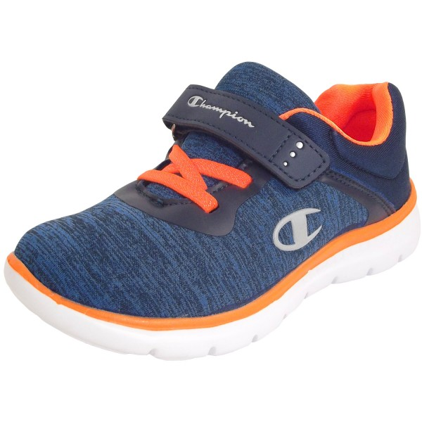 Champion Softy B PS Kinder Sneaker blau/orange (nny/org)
