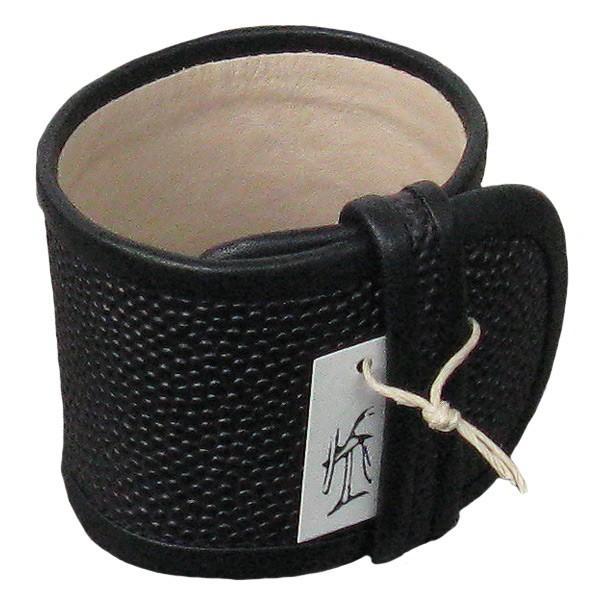 Lena Krampf Leder-Armband schwarz