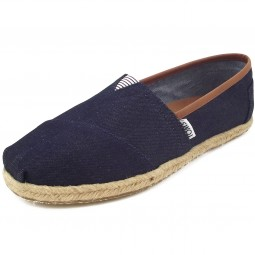 Toms Classic Rope Wm Damen Espadrilles denimblau (dark denim)