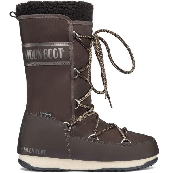 Moon Boot Monaco Wool WP Damen Winterstiefel Dunkelbraun (Dark Brown)