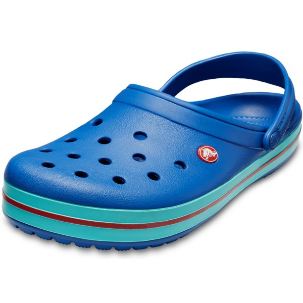 Crocs Crocband Unisex Clogs blue jean/pool