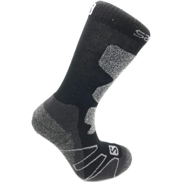 Salomon Performance Pro Unisex Outdoor Socken black/silver