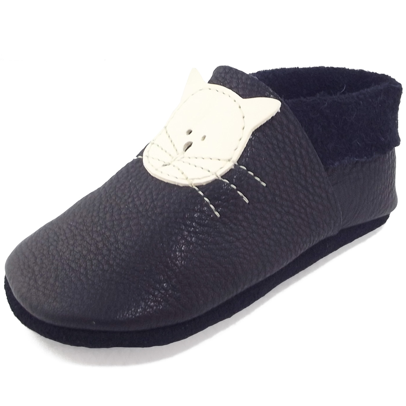 Po o Kitty Toddler Crawling Shoes dark blue enzian