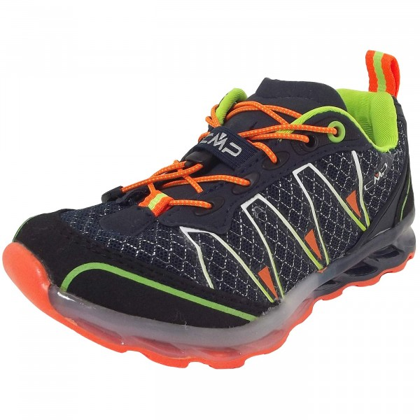 CMP Kids Altak Trail Kinder Laufschuhe black/navy/mint/orange