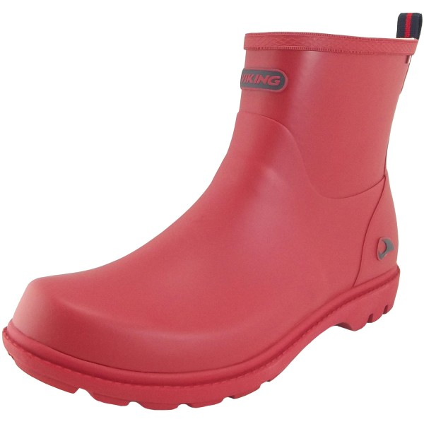 Noble Viking Boot Red Rubber Women Ankle TlJcKF1