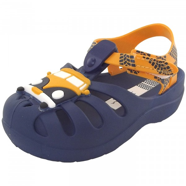 59ffcbc7d0b823 Ipanema Summer Baby Jungen Badesandale blau gelb (blue yellow)