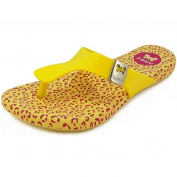 Zaxy Printflat Thong Kids Mädchen Zehenstegsandale gelb (yellow)