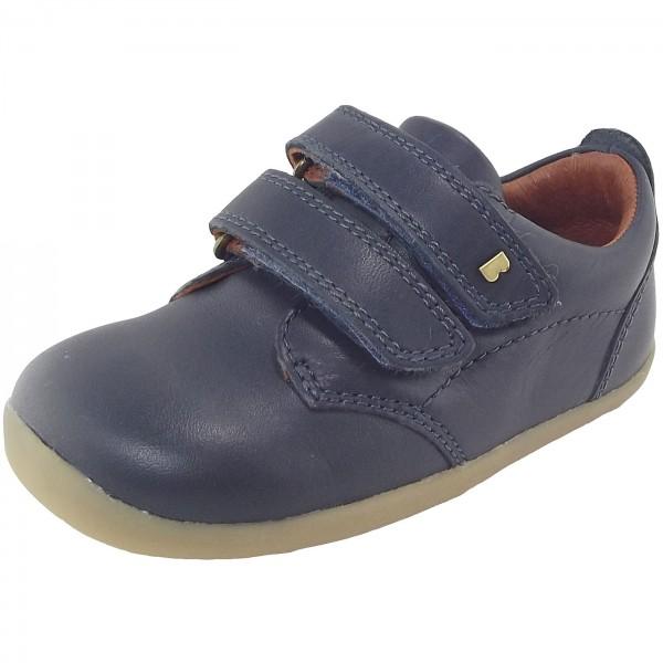 Bobux Step Up Port Kleinkinder Lauflern-Schuhe dunkelblau (navy)