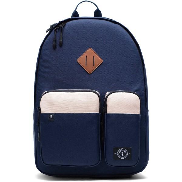 Parkland Academy Unisex Rucksack dunkelblau/kiesel (blue/stone)