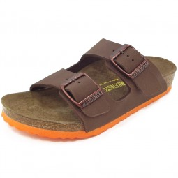 Birkenstock Arizona Kids Kinder Sandale braun (desert soil brown)