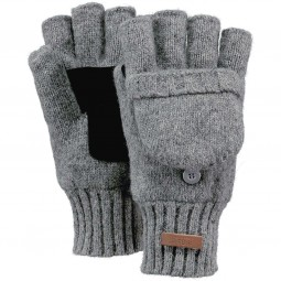 Barts Haakon Bumgloves Herren Winter-Fäustlinge grau (heather grey)