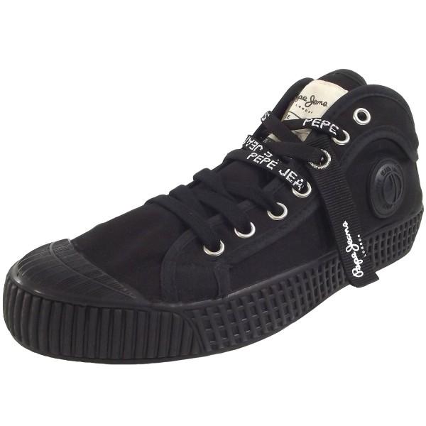 Pepe Jeans In-G Hi Damen Sneakers schwarz (black)