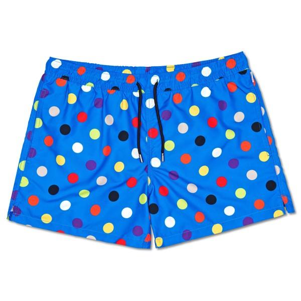 Happy Socks Big Dot Swim Shorts Herren Badehose Blau