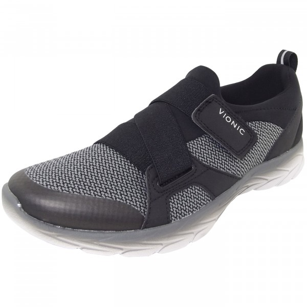 Vionic Dash Damen Slip-On Sneaker schwarz (black/charcoal)