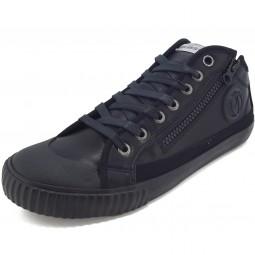 Pepe Jeans Industry Zipper Herren Sneaker schwarz (black)