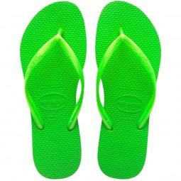 Havaianas Slim Damen Zehenstegsandale neongrün (neon green)