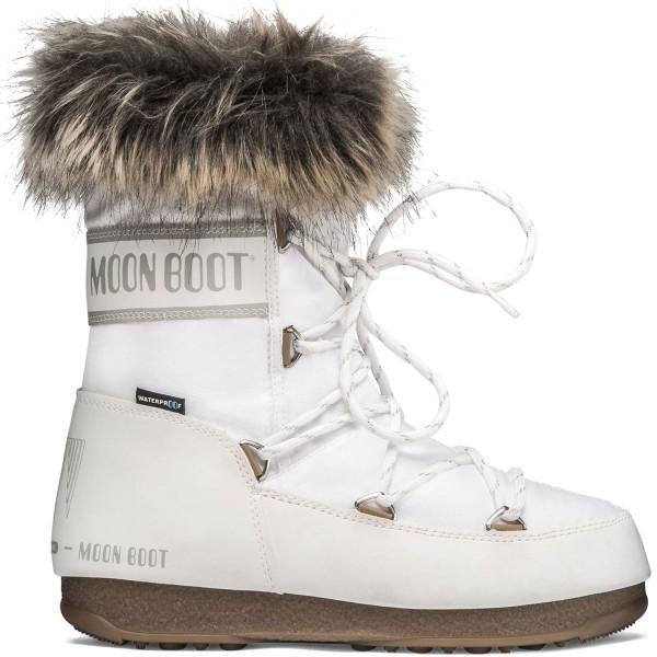 Moon Boot Monaco Low WP 2 Damen Winterstiefel weiß (white)