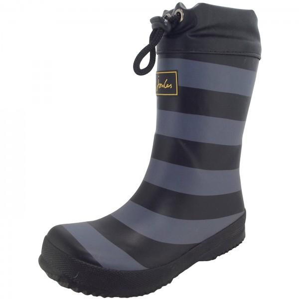 Joules Winter Wellies Jungen Wintergummistiefel schwarz (black stripe)