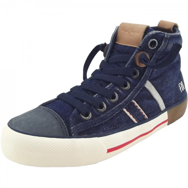 Pepe Jeans Serthi Boot Denim Jr Jungen Sneaker dunkelblau (denim)