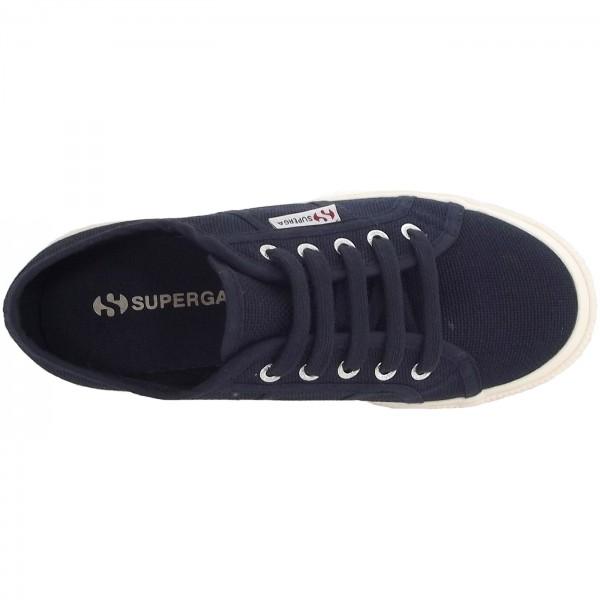 Superga 2750 Junior Cotu Classic Kinder Sneaker dunkelblau (navy) 3