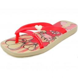 Ipanema Fashion Kirey III Kids Mädchen Zehenstegsandale beige/pink