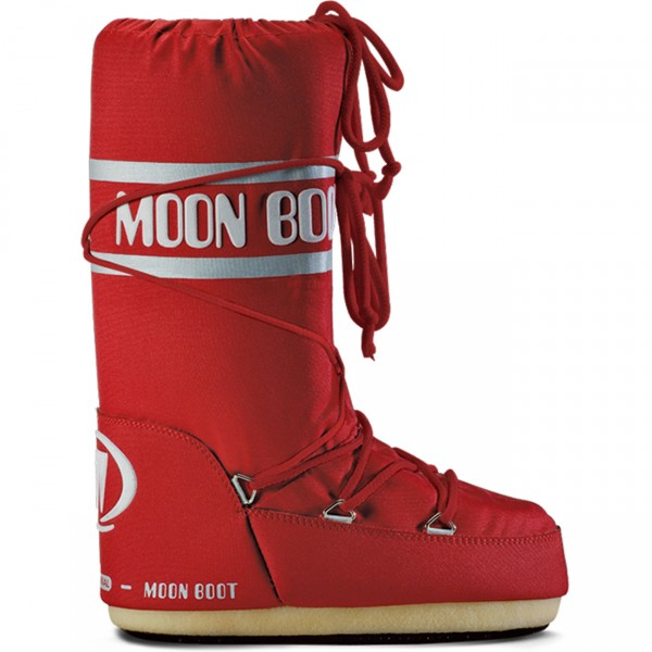 Moon Boot by Tecnica Nylon red