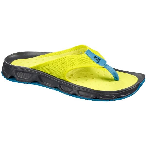 Salomon RX Break 4.0 Men Recovery Sandals evening primroseebonyfjord blue
