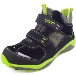 Superfit Gore-Tex Sport5 Mini Kinder Sneaker schwarz/grün (schwarz multi)
