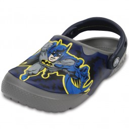 Crocs Crocs Fun Lab Batman Jungen Clogs grau (smoke)